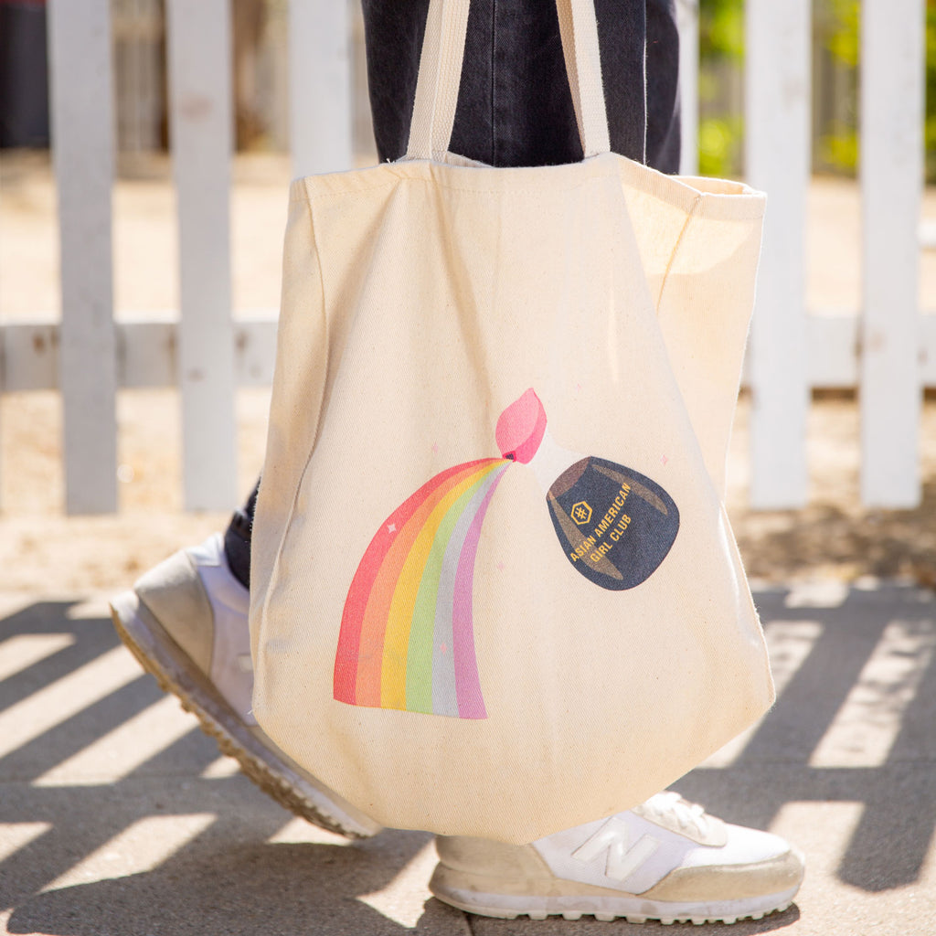Saucey Dream Tote designed by Molly Ha