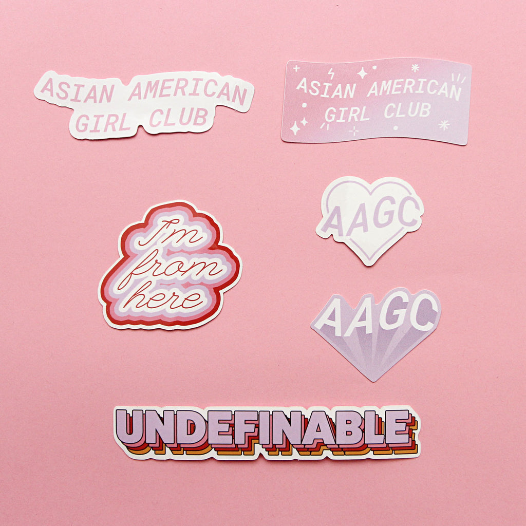 AAGC x JENNY CHANG (STICKER PACK)