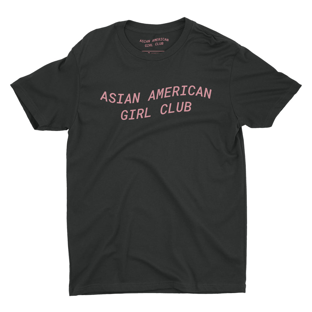 Asian American Girl Club (Unisex Black Tee)