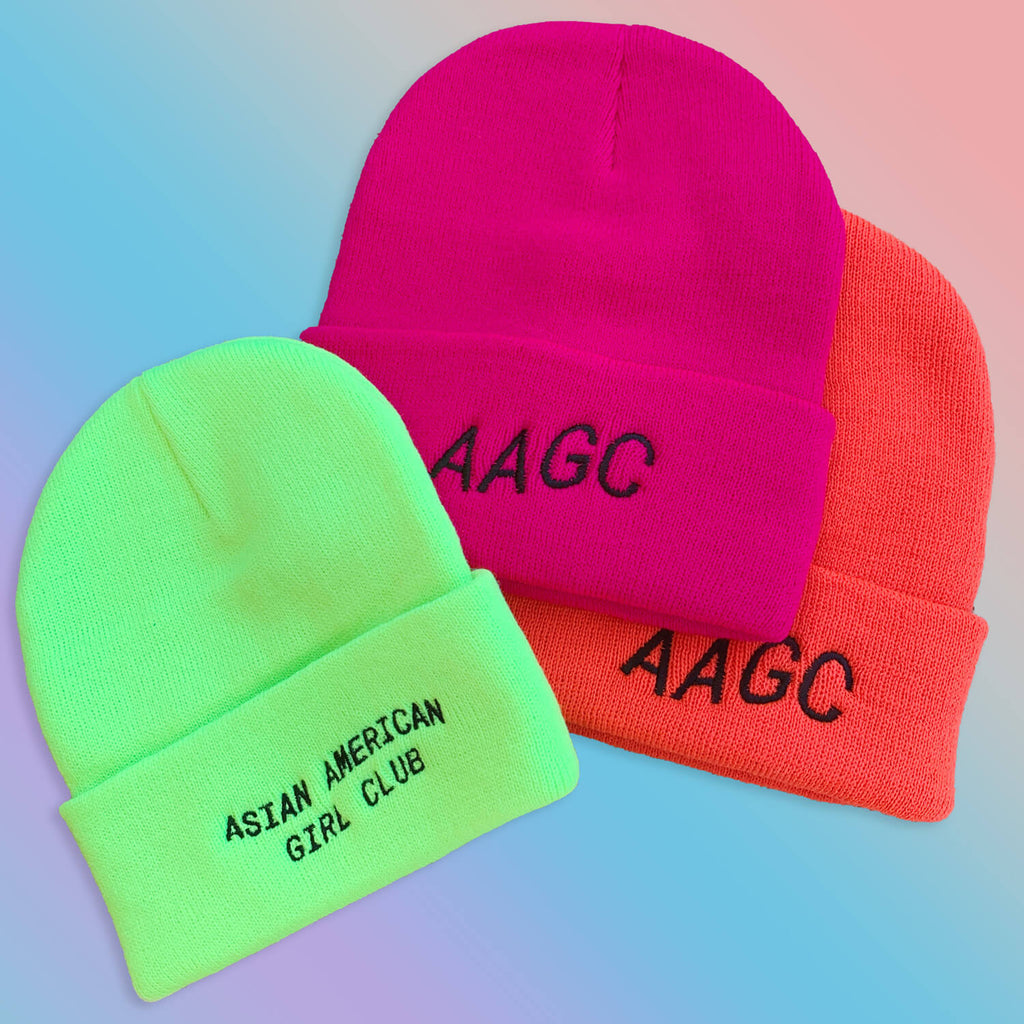 The Bubble Neon Beanie - Pink