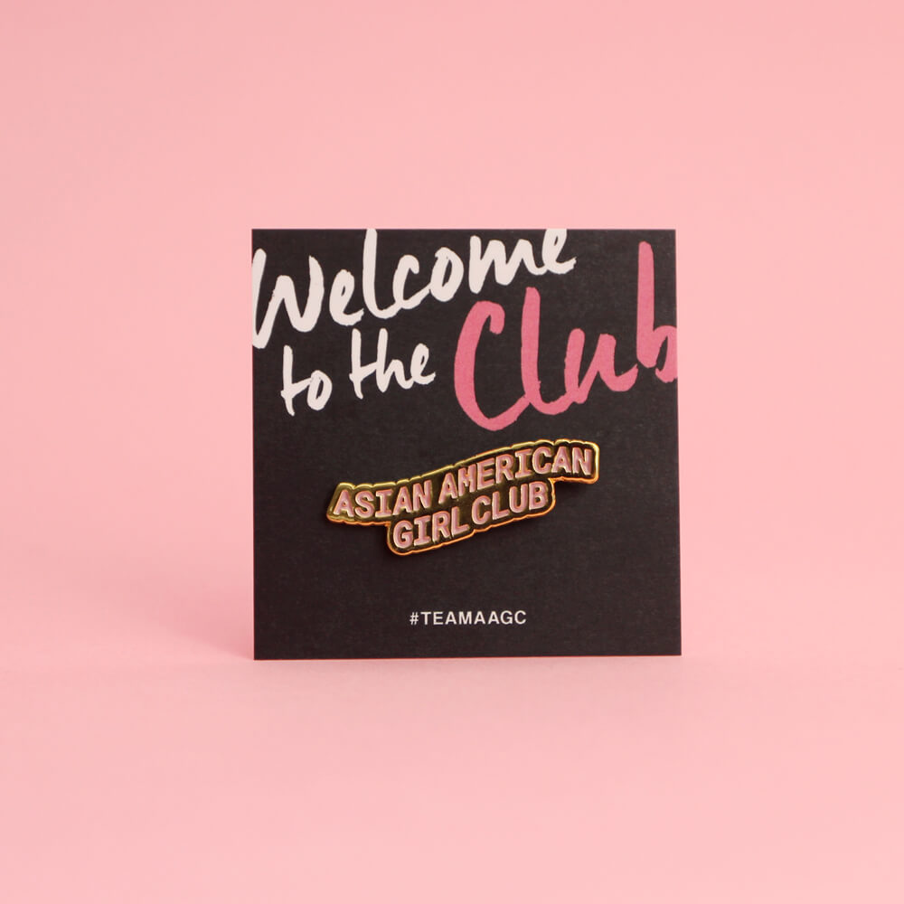 Asian American Girl Club (Pin)