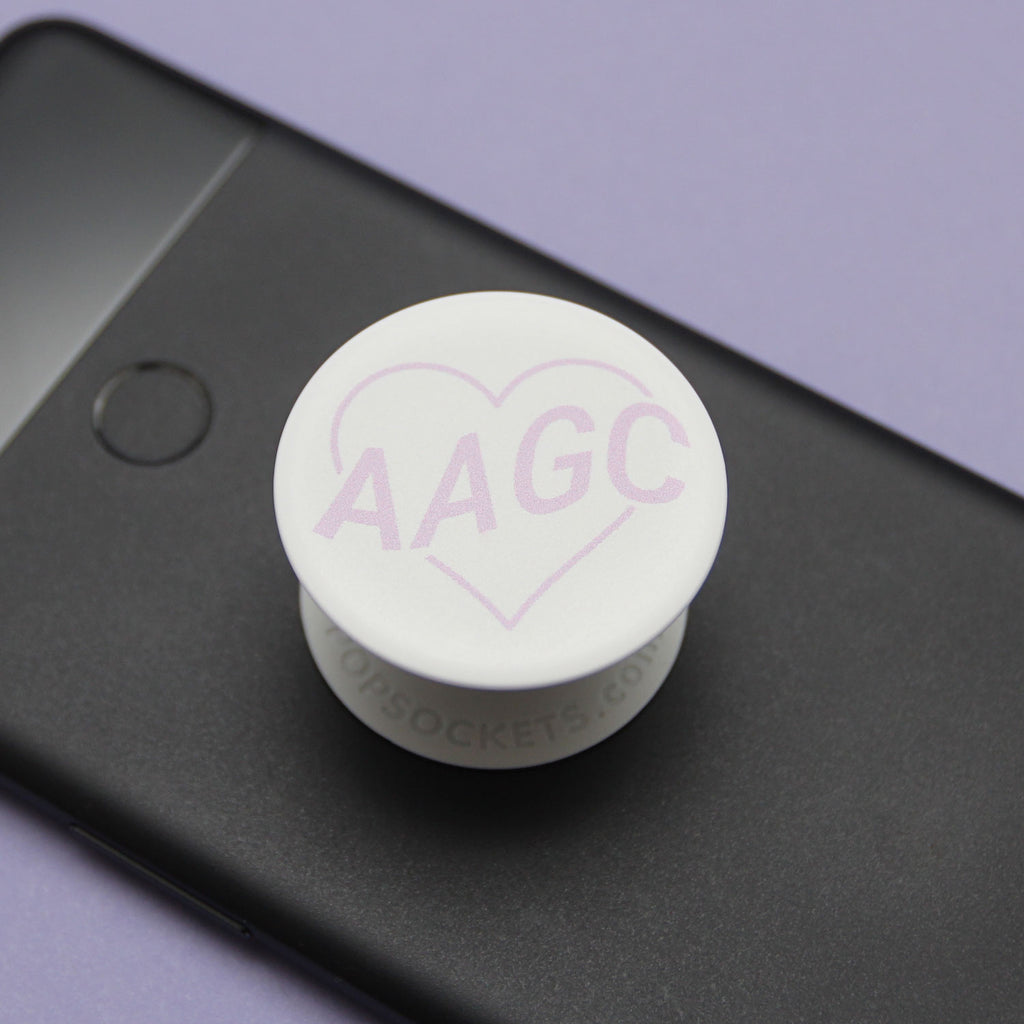 Poppin Purple Popsocket Designed by Jenny Chang
