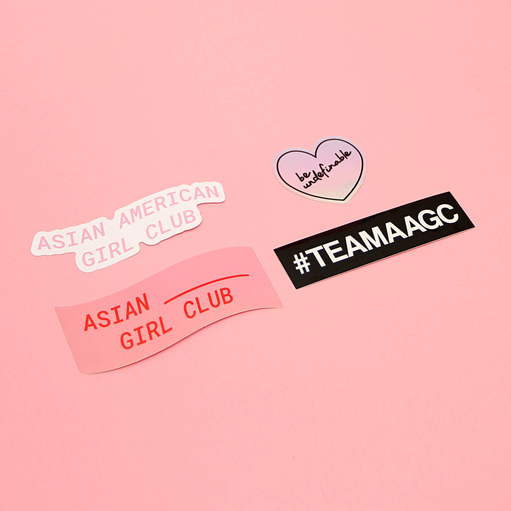 ASIAN AMERICAN GIRL CLUB (STICKER PACK)