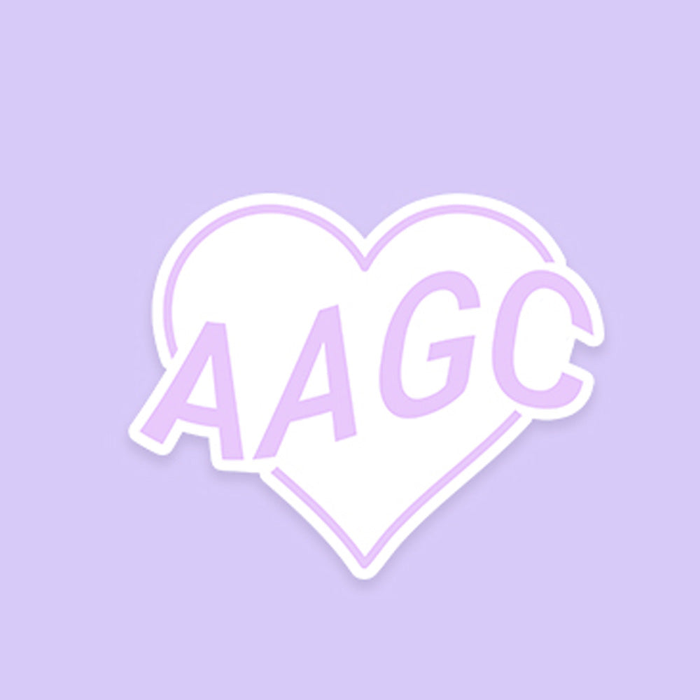 AAGC Heart (STICKER)