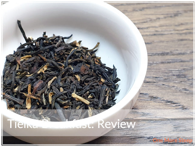Tea Review by One More Steep of Tielka Breakfast Black Tea