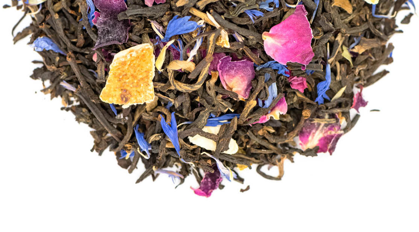 Fairtrade organic Lady Betty Black Tea by Tielka