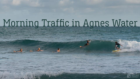 Morning Traffic in Agnes Water