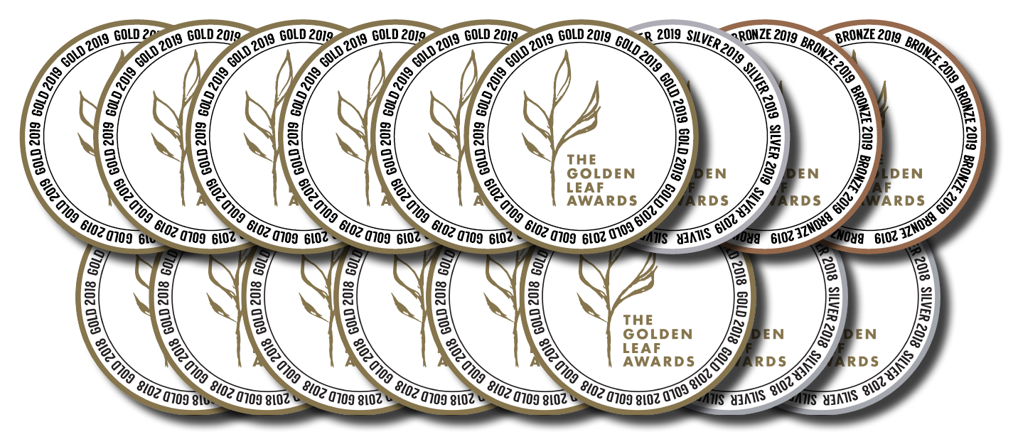 The Golden Leaf Awards - Tielka has won an incredible 9 medals at the 2019 Golden Leaf Awards, eclipsing Tielka's 2018 result of 8 medals.