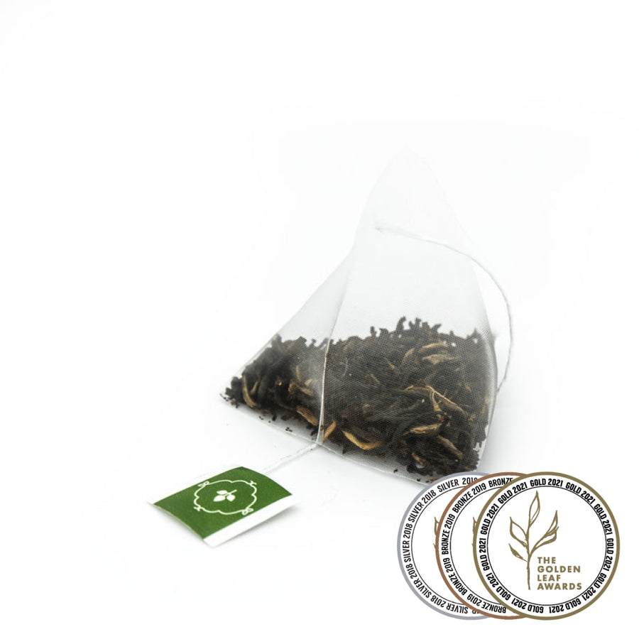 Fairtrade organic Tielka Breakfast Black Tea Pyramid Infusers by Tielka