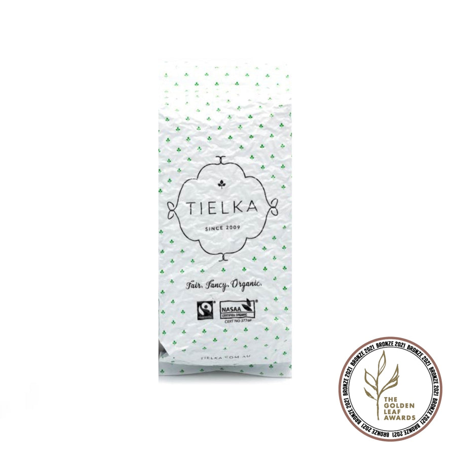 Fairtrade Organic Loose Leaf Limonada Rosa Herbal Infusion Foil Pouch by Tielka