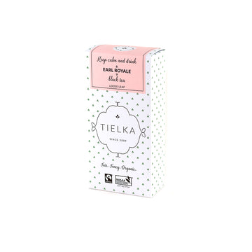 Fairtrade Organic Loose Leaf Earl Royale Black Tea Box by Tielka