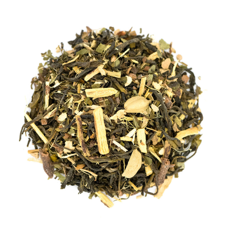 Persian Mint Chai Green Tea - Loose Leaf Box