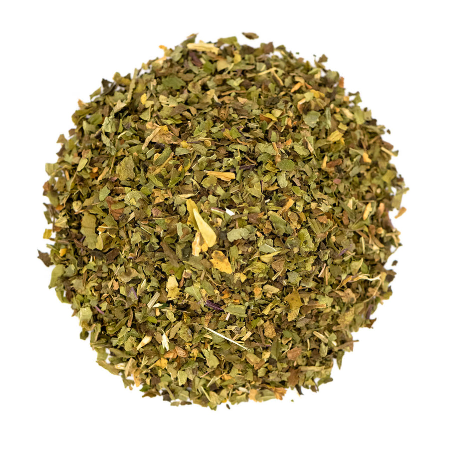 Fairtrade Organic Loose Leaf Peppermint Leaf Herbal Infusion by Tielka