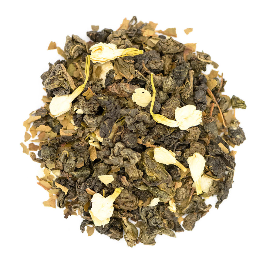 Fairtrade Organic Loose Leaf Midnight Blossom Oolong Tea by Tielka
