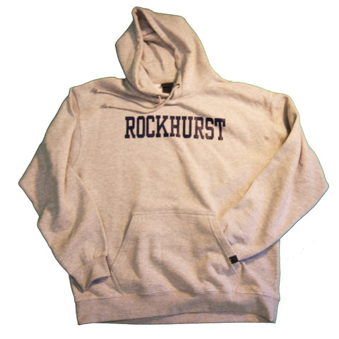 Adult Classic Sweatshirt with Hood in Grey