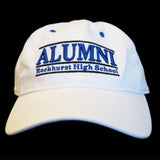 Baseball Cap in White - ALUMNI