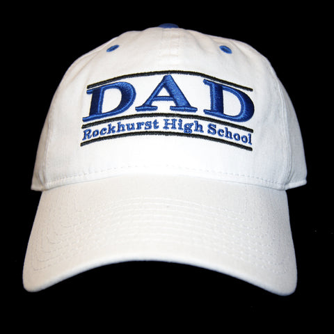 Baseball Cap in White - DAD