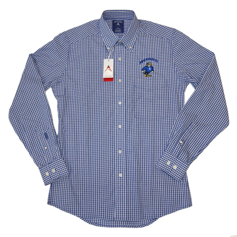 Plaid Button Down Shirt by Antigua