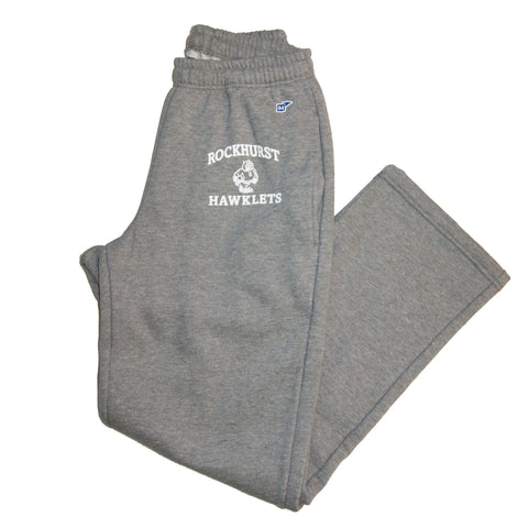 Open Leg Sweatpant in Grey