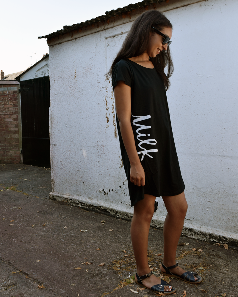 Shirt Dress/ Pjs 'Milk'