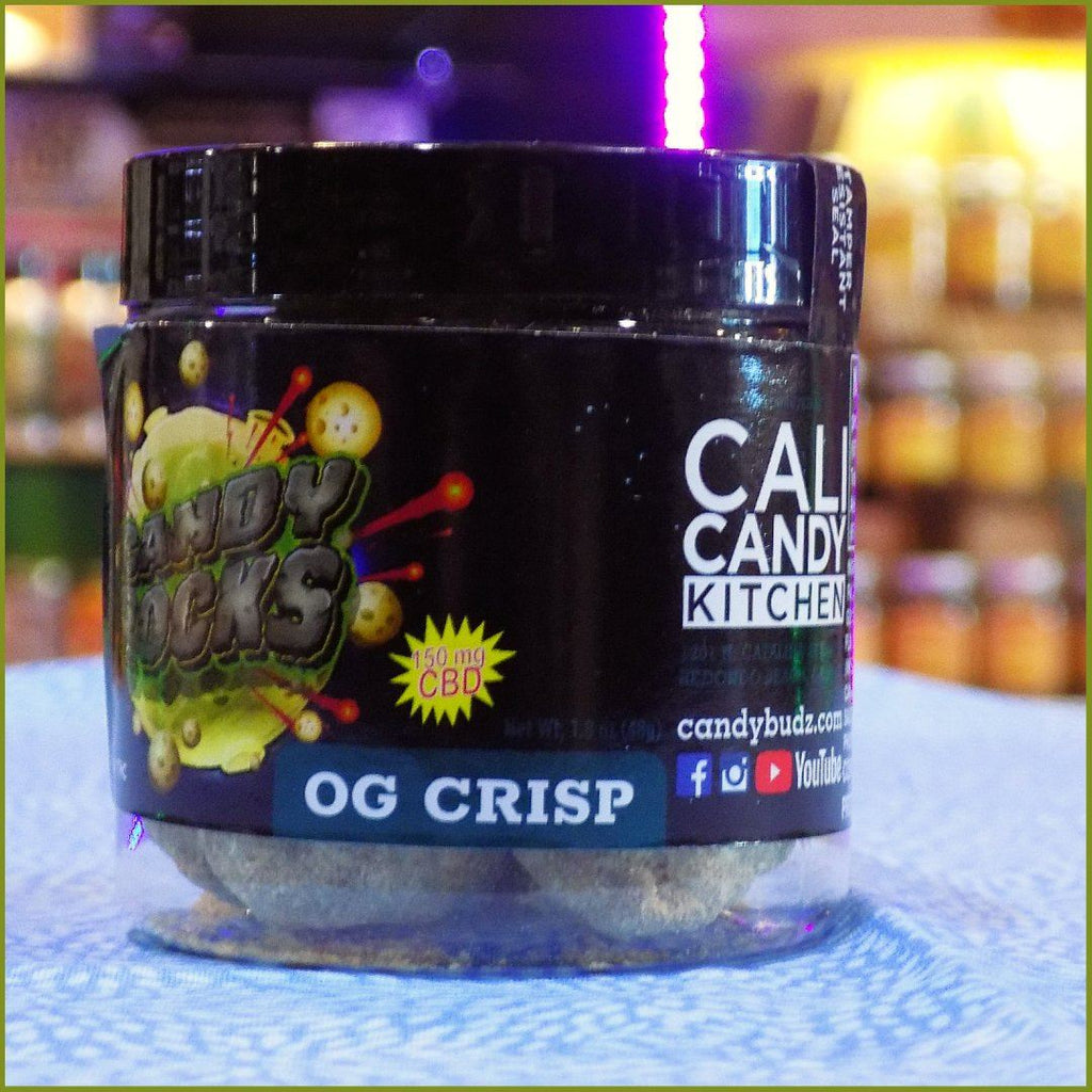 Cali Candy Kitchen™ 150MG CBD Candy Rocks- OG CRISP Flavor CBD Cali Candy Kitchen™