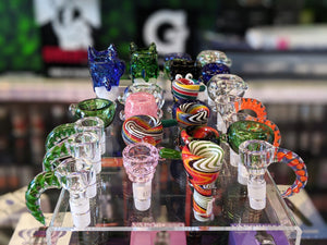Glass Bowl Heads Smoking Accessories iSmokeShop