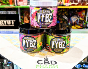 Vybz Gummies (Various MG) CBD iSmokeShop