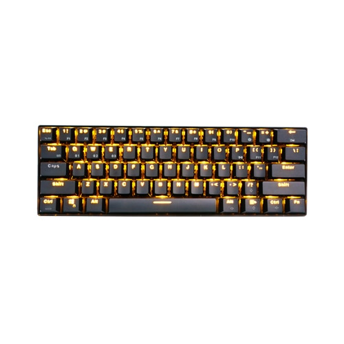rk61 wired and bluetooth 3 0 wireless mechanical gaming keyboard 61 key ebay. Black Bedroom Furniture Sets. Home Design Ideas