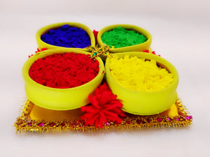 Holi Organic Colours - Pack of 4 colors