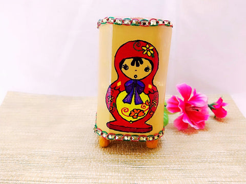 Pen Stand - Matryoshka Russian Doll