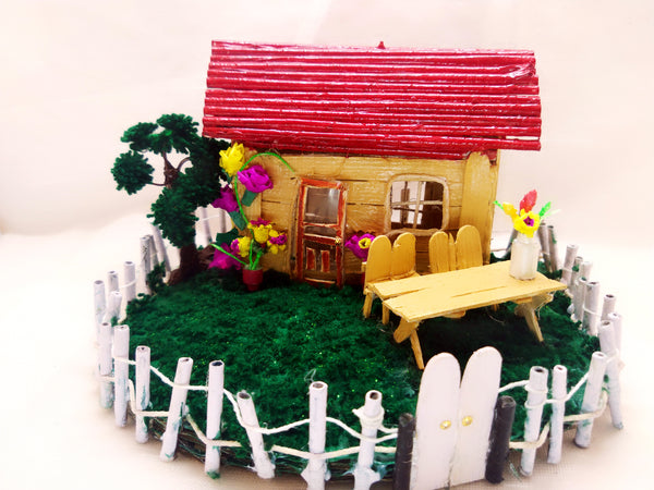 Miniature - Cottage with Garden - Ahaeli