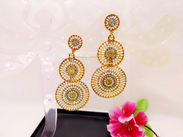 Earrings - Mandala