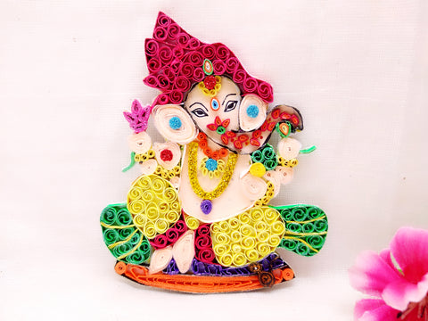 Fridge Magnets - Ganesha - Quilled paper - Ahaeli