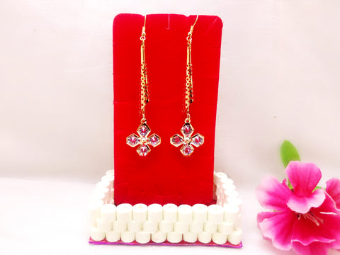 Earrings - Edgy Flower - Ahaeli
