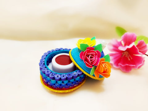 Sindoor Box - Quilled Art - Ahaeli