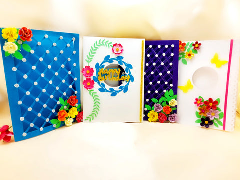 Greeting Card - Floral - Ahaeli