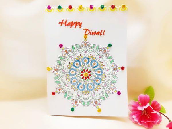 Greeting Card - Mandala Art - Ahaeli
