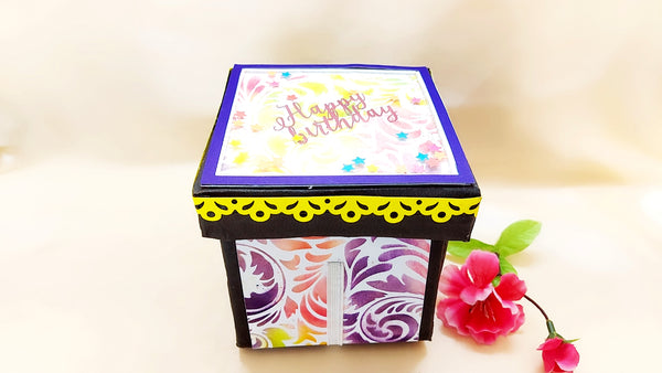 Greeting Card - Jumping Explosion Box - Ahaeli