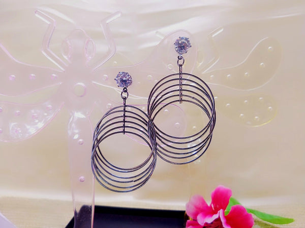 Earrings - 6 Hoops - Ahaeli
