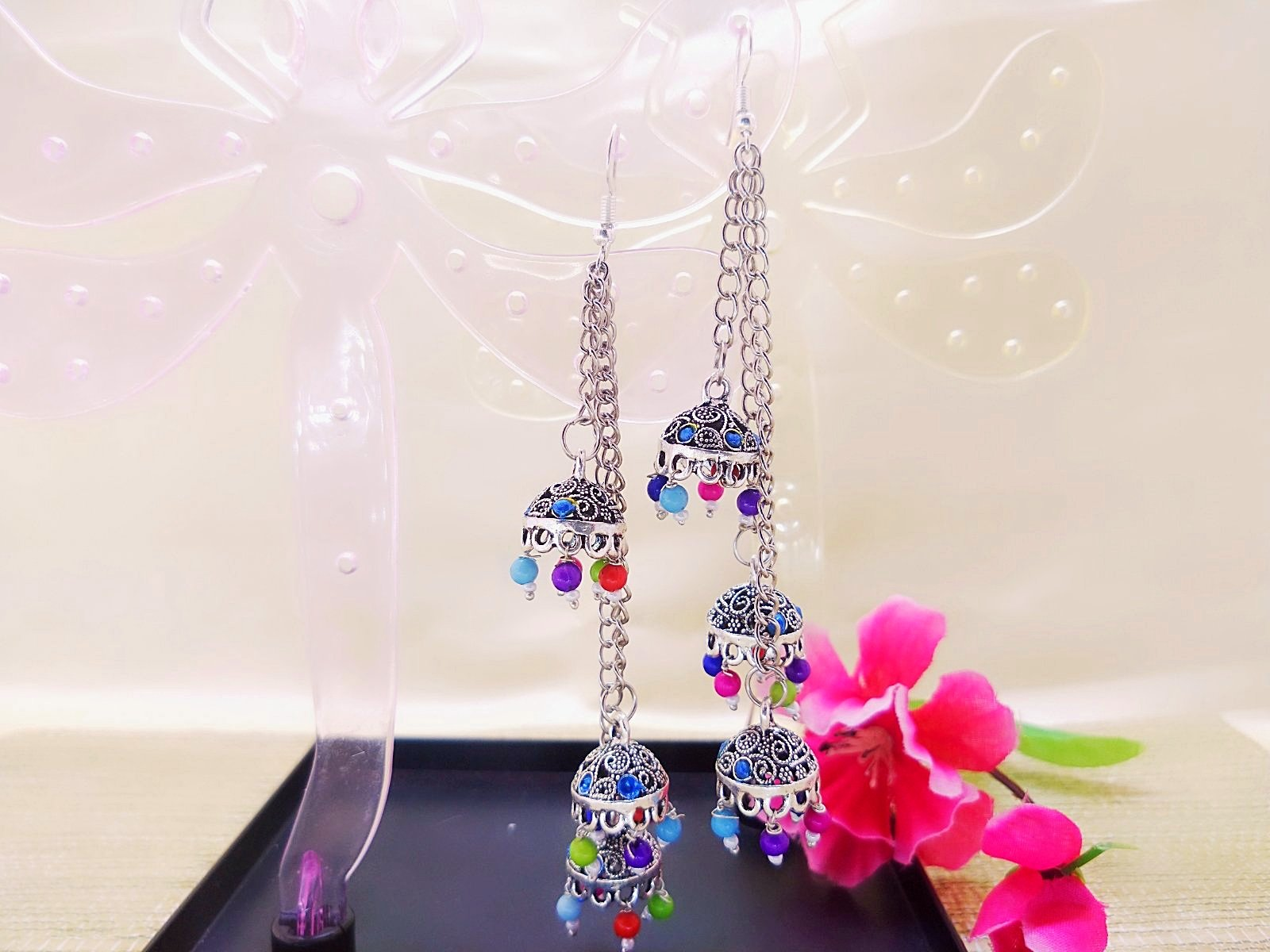Earrings - Afghani Jhumka