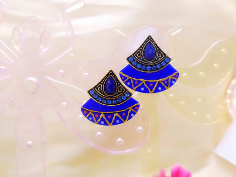 Earrings - Mithila Art - Ahaeli