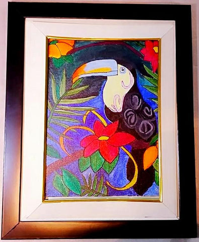 Canvas Painting - Toucan - Ahaeli