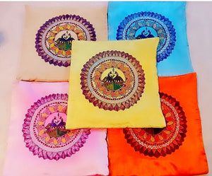 Cushion Cover - Mithila Art - Ahaeli