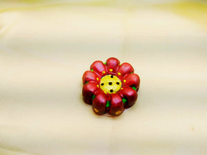 Incense Sticks Holder- Red Flower