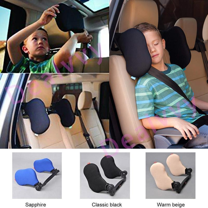 Adjustable Safe Car Seat Headrest - oblevs