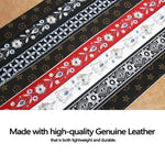 Embroidery Genuine Leather Handbags Strap - oblevs