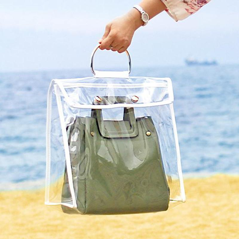 Fashion Transparent Dust-proof Bag - oblevs