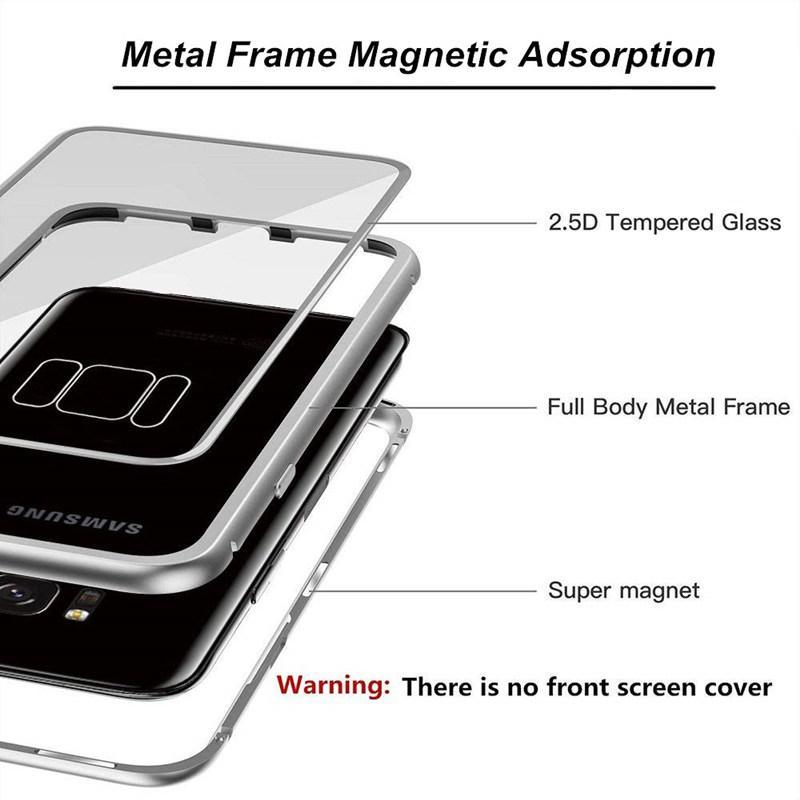 Magnetic Adsorption Flip Phone Case for Samsung - oblevs