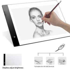 A4 LED Intelligent Electronic Drawing Pad  Art Board - oblevs