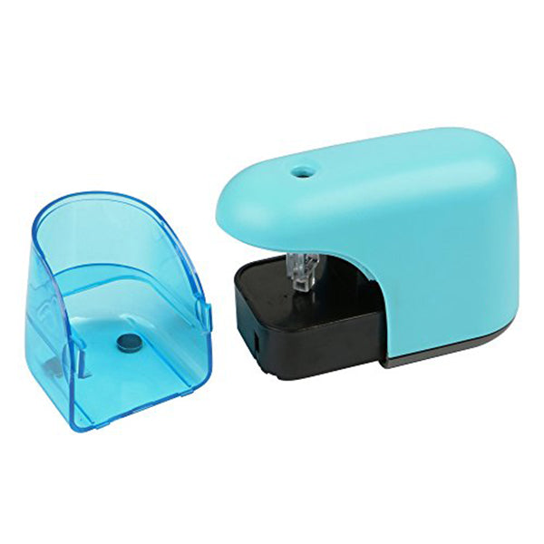 Electric Pencil Sharpener With LED Light - oblevs